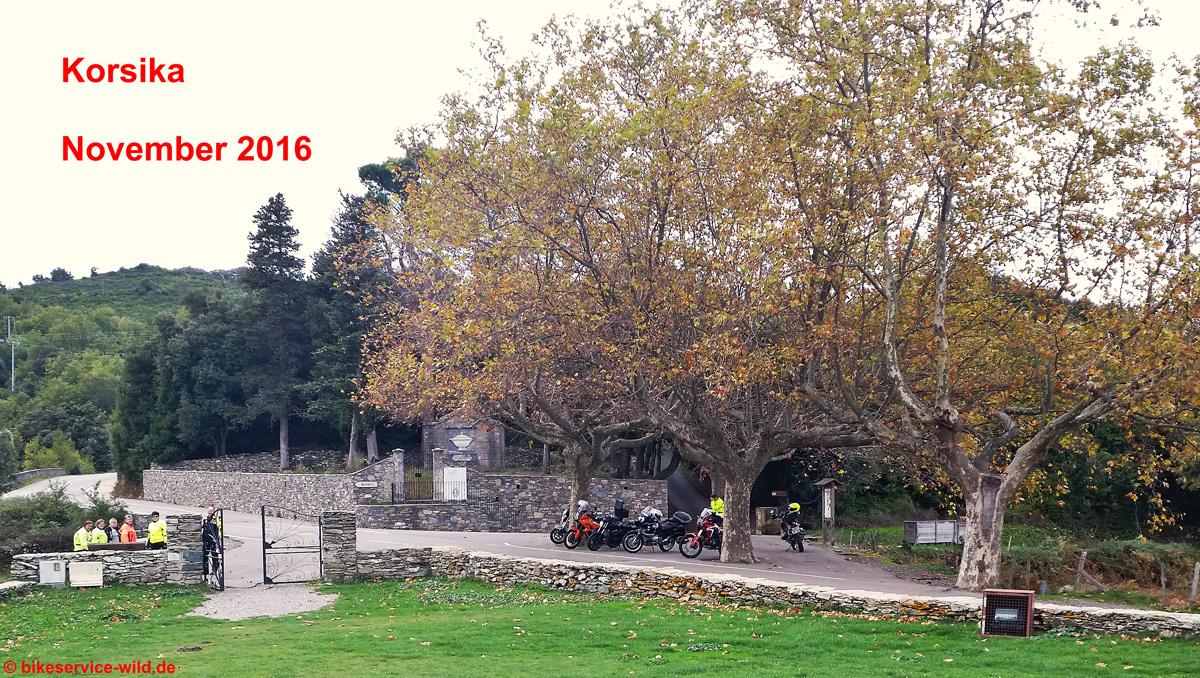 Korsika November 2016