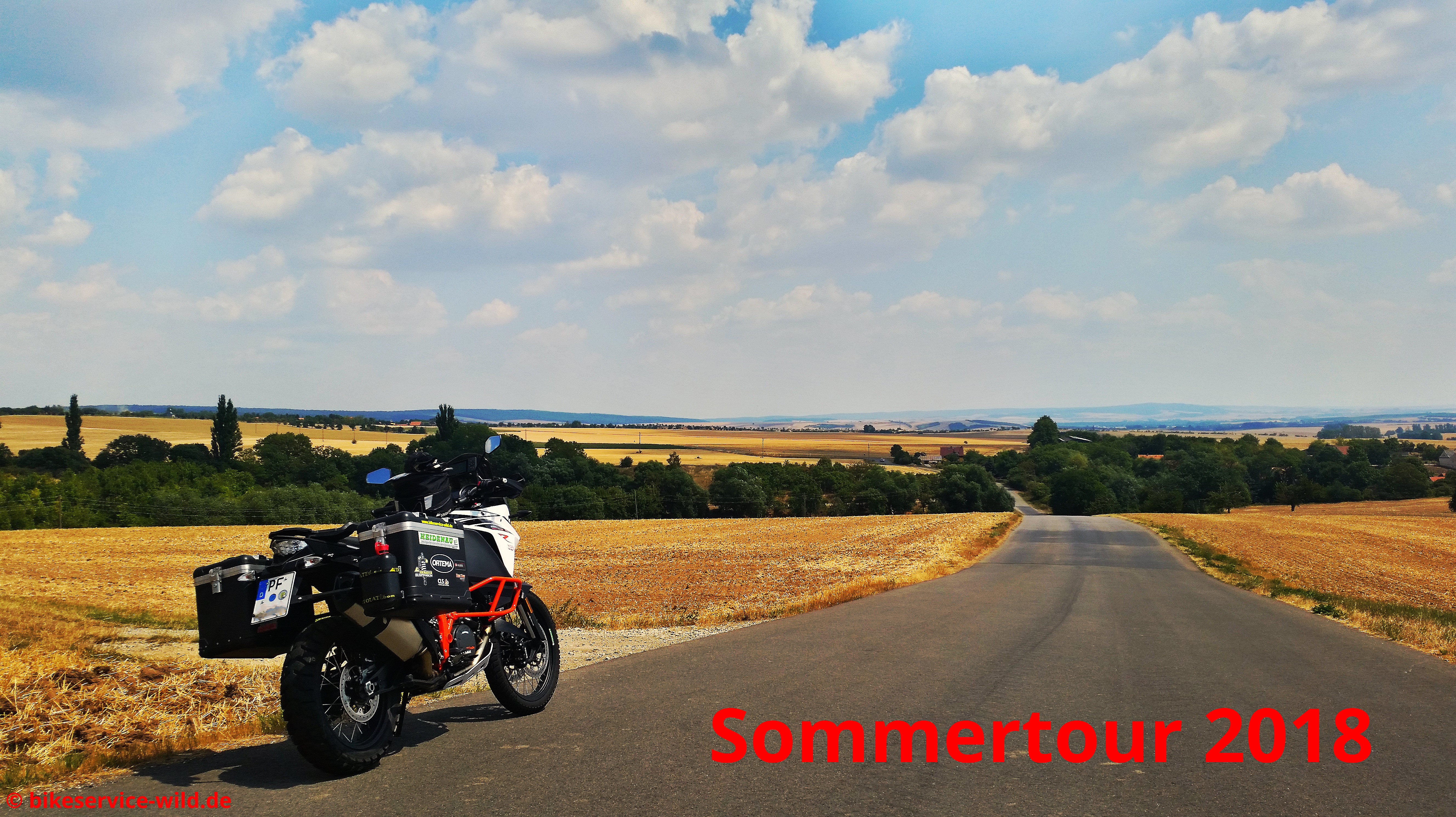 Test-und Sommertour 2018 mit der KTM 1090 Adventure R