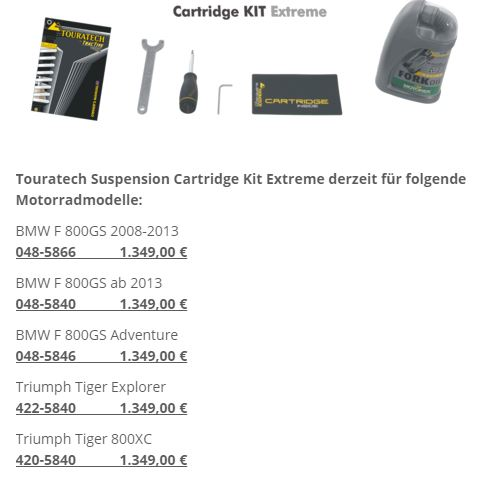 Cartridge Kit