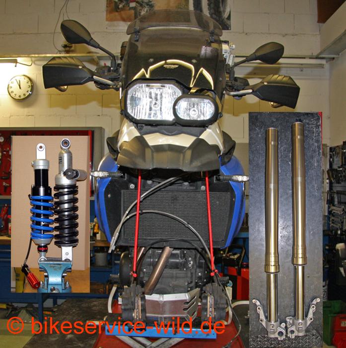 Fahrwerkstieferlegung Bmw F 800 Gs