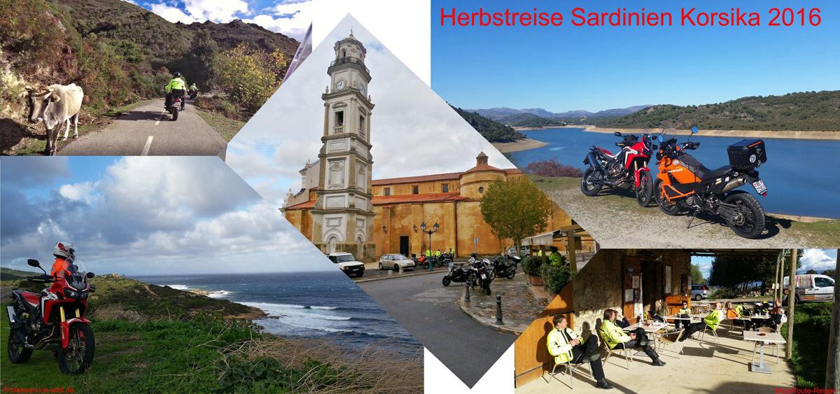 Herbstreise Sardinien-Korsika 2016