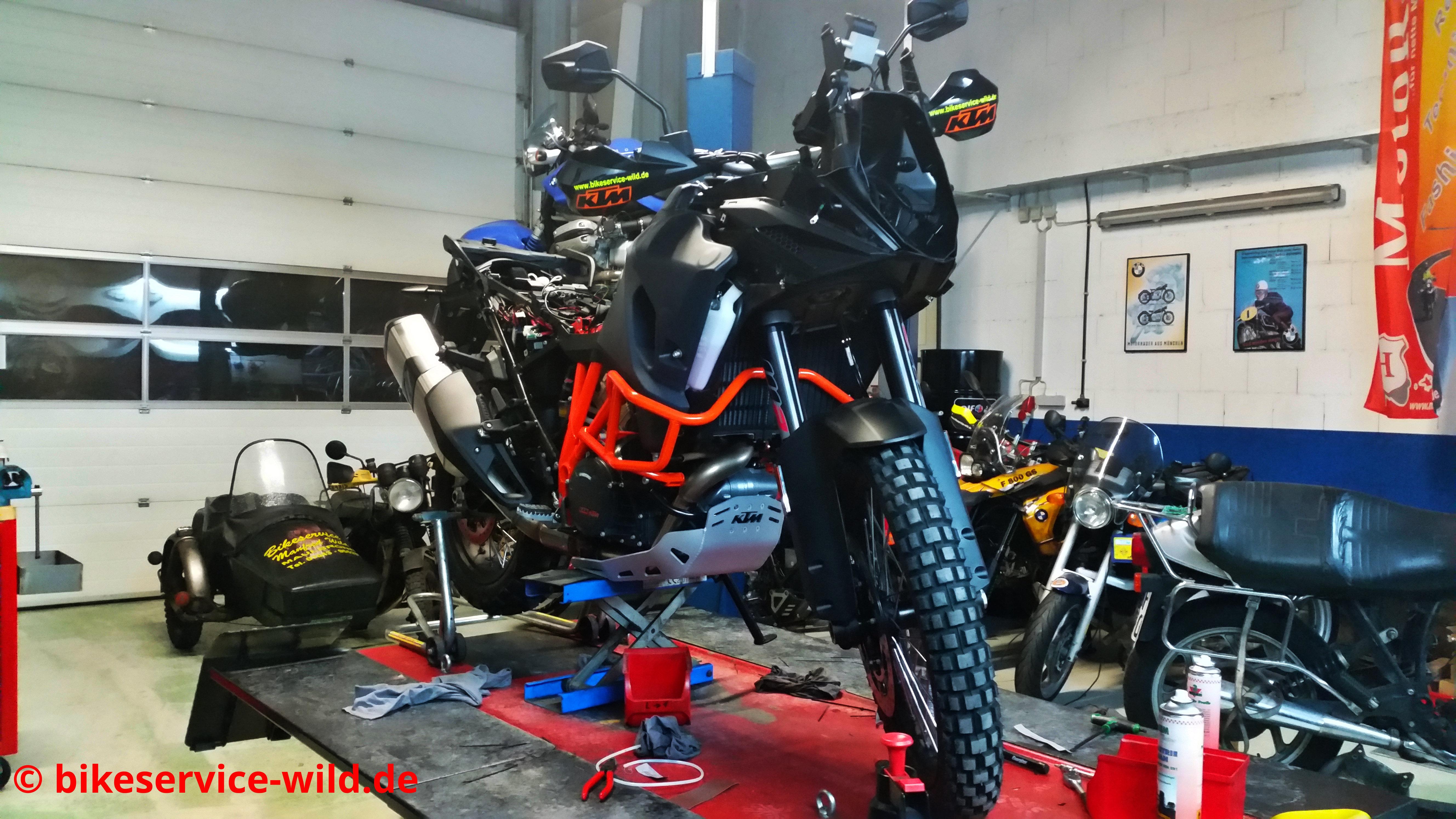 Neues Umbau- und Testprojekt. KTM 1090 Adventure R