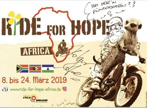 Ride for Hope Africa